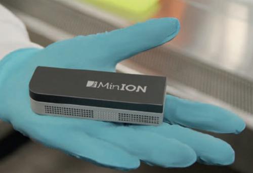 Nanopore MinION Flow cell