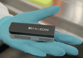 Nanopore MinION Flow cell